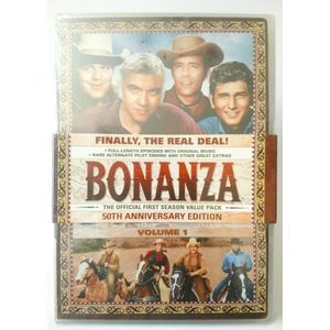 Bonanza official season one and two 50th edition